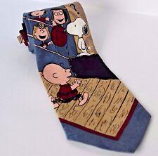 Snoopy tie sports Peanuts Charlie Brown basketball gym teacher Christmas gift