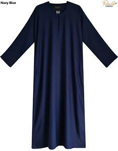 EXTRA LARGE(wide fit)Plain Dubai Abaya with Pocket MadeBy Nice &Good NIDA Fabric