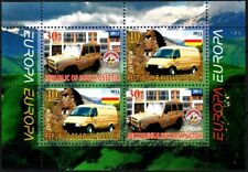 GEORGIA / Ossetia 2013 EUROPA: Postal Cars. Souvenir Sheet. Perforated, MNH