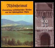 Rhönheimat - Sammlung volkstümlicher Weisen aus der thüringischen Rhön, 1990