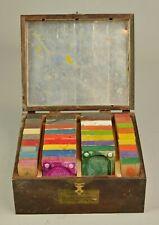 Vintage Jap-Art Kolorstix and Kolormixr Palettes New York Art Mixing Palette Set