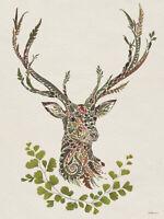 Helen Ahpornsiri - Autumn Stag -Canvas READY TO HANG 60 x 80cm