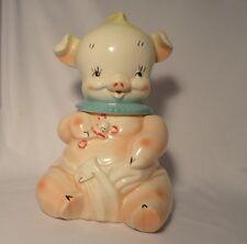 DIAPER PIN PIG COOKIE JAR  #404 REGAL CHINA RARE  1950 HARD TO FIND