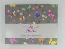 Amelie Collection - Sticky Notes And Pen Set