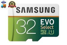 Samsung 32GB 95MB/s (U1) MicroSD EVO Select Memory Card with Adapter (MB-ME32GA/