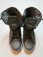 Pastry Girls Shoes Size 5 1/2 Gray Studded Hightops #R2