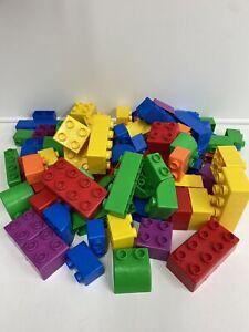 Lego Quatro 5385 Large Duplo Building Blocks 95 Pieces In Storage Box Over 2.5kg