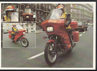 Royal Mail Postcard - Express Post Motorcyclist in London   LC3428