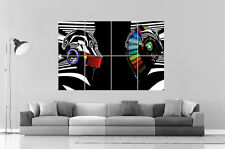 DAFT PUNK SPECIAL MIROR DJ MUSIC  Wall Art Poster Grand format A0 Large Print