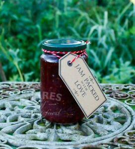 lb Glass Jam Jars,370ml,Large Pack 100, Green Lids, Pickling ,Marmalade, New*