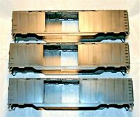 ATHEARN  -  Undecorated 50' Double Door Box Car Shell - 3 each - C-9 Brand New
