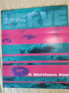 The Verve A Northern Soul promo poster Frank Kozik signed & numbered