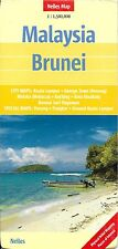 Map of Malaysia & Brunei, by Nelles Map