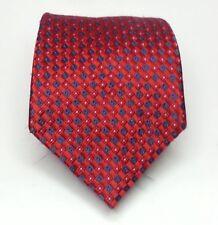 Jones New York Men Dress Red Silk Tie