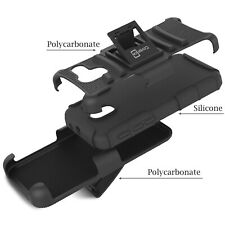 "For ALCATEL TRU / Stellar / Pop 3 (5"") Belt Clip Case Black Holster Hybrid Cover"
