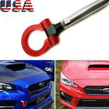Red Track Racing Style CNC Aluminum Tow Hook for Subaru WRX & STI & BRZ Impreza
