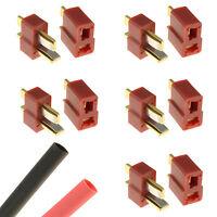 5 x PAIRS Deans T Plug Gold RC Connectors