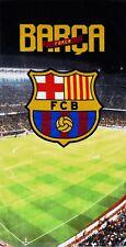 XL Neuf Barcelone Club Football Serviette Bain Plage Garçons Enfants Fans Fête
