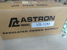 New Astron Vs-12M Adjustable Dc Linear Power Supply
