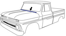 60-66 Chevy/GMC Truck Hood to Cowl Seal Weatherstrip C10 C20 Suburban