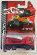 MAJORETTE Construction MAN TGS Mixer Camion toupie malaxeur N° 299F 1.87