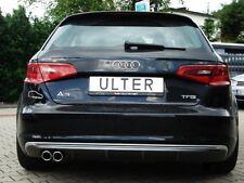 Échappement Sport Audi a3 sporback 8 V à partir de 2013 2x70mm en biseau