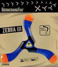 BoomerangFan Zebra III robuster Einsteiger Sport Bumerang Dreiflügler