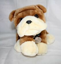 Buster Bulldog With Collar And Name Tag Keel Toys Dog Cuddly Soft Plush Toy