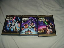 Star Wars 4 5 6 Limited Edition Theatrical Version DVD RARE OOP