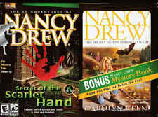 Nancy Drew SECRET OF THE SCARLET HAND Vol 6 PC Game + Mystery Book NEW in BOX