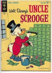 1963 Gold Key Uncle Scrooge #42 VG/F 5.0