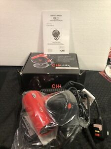 NEW CHI AIR DELUXE WALL MOUNT RED CERAMIC HAIR DRYER CA1076 NIB