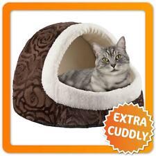 Premium Katzenhöhle XXL - Katzenhaus & Hundehütte Höhle für Katzen und Hunde