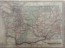 Clason's 1920 Guide Map of Washington