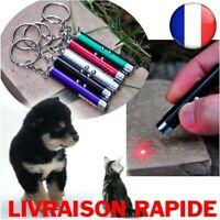 Laser Drôle Chat Chien Bâton 2en1 Rouge Pointeur Stylo Lumière LED Blanche Jouet