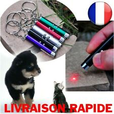 Laser Funny Cat Dog Stick 2en1 Red Pointer Pen Led Light White Toy