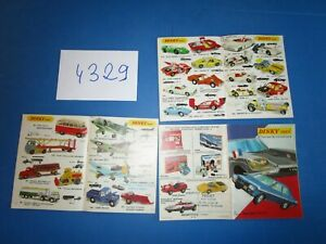 N°4329 /  DINKY TOYS catalogue de la production 1971 méccano-tri-ang
