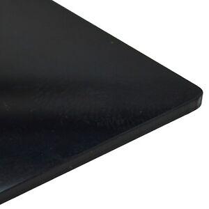 5mm Perspex Black Gloss Acrylic Plastic Sheet 16 SIZES TO CHOOSE