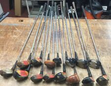 Lot of 15 Vintage Wood Drivers  Golf Clubs
