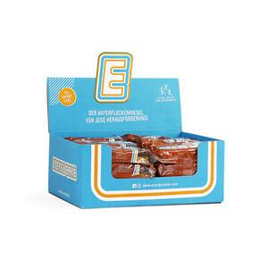 (8,10€/1kg) 3000g 24 x 125g Energy Cake Haferriegel Energie Fitnessriegel Kohlen