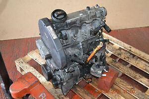 VW POLO 9N 5DR 02-05' 1.9 SDI BARE ENGINE DIESEL - ENGINE CODE: ASY