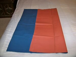 BLUE / RED  HEAVY DUTY RUBBER MACKINTOSH RUBBER BED SHEET  35 IN X 40 IN