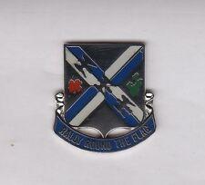 US ARMY 115th INFANTRY REGIMENT crest DUI badge Clutchback P-23