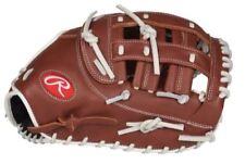 "Rawlings Fastpitch Softball R9 Series 12.5"" First Base Glove LHT R9SBFBM-17DB"