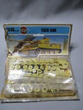 AH962 AIRFIX WWII WW2 TIGER TANK 01308-4 OO 1/76 HO 1/87 DIORAMA MAQUETTE