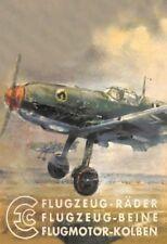 Caza alemana 2. aviones Guerra mundial chapa escudo Escudo jadeará Tin sign 20 x 30 cm
