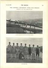 1895 Cornell University Team For Henley