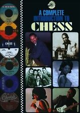 💿 COMPLETE INTRO TO CHESS BOX SET 4CD. MUDDY WATERS/HOWLIN WOLF/LITTLE WALTER +
