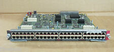 Cisco WS-X6148-RJ-45 Catalyst 48-Port  Ethernet Switching Module 800-22886-01