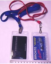 LANYARDS with I.D. Pouch Qty.10